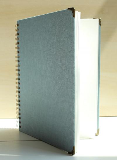 Grijze photobooth gastenboek van Fotodoos